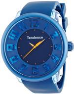 テンデス 時計 Tendence Fantasy 3H Unisex Quartz Watch with Blue Dial Analogue Display and Blue