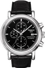 ティソ 時計 Tissot Mens T068.427.16.051.00 Black Dial Carson Watch