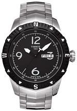 ティソ 時計 Tissot Mens T0624301105700 Quartz Stainless Steel Black Dial Watch