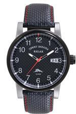 トミー バハマ 時計 Tommy Bahama RELAX Mens RLX1199 Grand Prix Black 3-Hand Date Field Case Watch