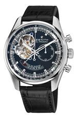 ゼニス 時計 Zenith Mens 03.2080.4021/21.C496 Chronomaster Open Power Reserve Black Dial Watch<img class='new_mark_img2' src='//img.shop-pro.jp/img/new/icons34.gif' style='border:none;display:inline;margin:0px;padding:0px;width:auto;' />