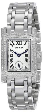 インヴィクタ 時計 Invicta Womens 15626 Angel Analog Display Swiss Quartz Silver Watch