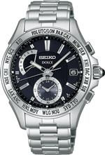 ドルチェガッバーナ 時計 SEIKO DOLCE super clear coating solar radio Mens watch SADA003 Japan Import