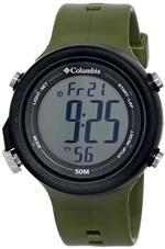 コロンビア 時計 Columbia Mens CT007-051 Recruit Digital Display Quartz Green Watch