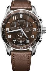 ビクトリノックス スイスアーミー 時計 Victorinox Chrono Classic XLS 241653 Mens Chronograph Solid