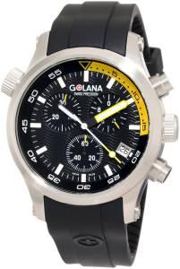 [ゴラナ スイス]Golana Swiss 腕時計 Aqua Pro 300 Stainless Steel Watch AQ300-4 メンズ [並行輸入品]