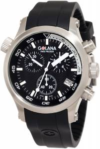 [ゴラナ スイス]Golana Swiss 腕時計 Aqua Pro 300 Stainless Steel Watch AQ300-1 メンズ [並行輸入品]