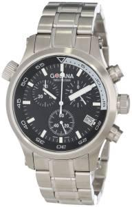 [ゴラナ スイス]Golana Swiss 腕時計 Aqua Pro 300 Stainless Steel Watch AQ300-2 メンズ [並行輸入品]