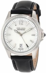 [ゴラナ スイス]Golana Swiss 腕時計 Aura Pro 100 White MotherofPearl Dial Leather Watch AU100-4 レディース [並行輸入品]