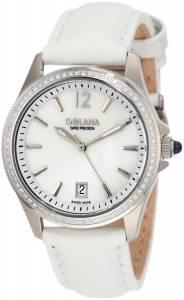 [ゴラナ スイス]Golana Swiss 腕時計 Aura Pro 100 White MotherofPearl Dial Leather Watch AU100-6 レディース [並行輸入品]