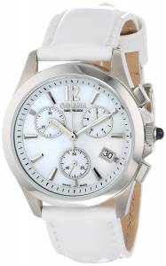 [ゴラナ スイス]Golana Swiss Aura Pro White MotherofPearl Dial Chronograph Leather AU200-7