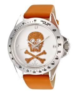 [トイウォッチ]Toy Watch 腕時計 Silver Dial Orange Canvas Strap Watch S05OROS ユニセックス [並行輸入品]