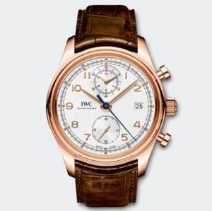 [アイダブルシー]IWC 腕時計 Portuguese Chronograph Classic Automatic Rose Gold Watch IW390402 メンズ [並行輸入品]
