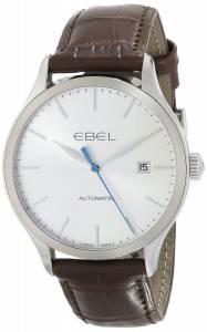 [エベル]EBEL 腕時計 100 Stainless Steel Automatic Watch with Leather Band 1216088 メンズ [並行輸入品]