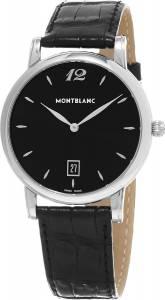 [モンブラン]Montblanc 腕時計 Star Analog Display Swiss Automatic Black Watch 108769 メンズ [並行輸入品]
