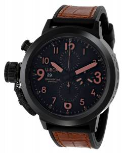 [ユーボート]U-Boat 腕時計 Flightdeck Analog Display Swiss Automatic Brown Watch 7094 メンズ [並行輸入品]