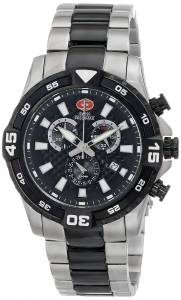Swiss Precimax Men's SP13113 Falcon Pro Analog Display Swiss Quartz Gold Watch