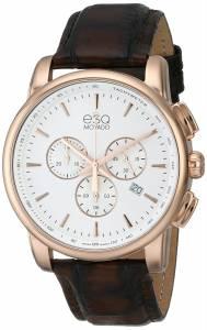 [イーエスキューモバード]ESQ Movado 腕時計 Capital Analog Display Swiss Quartz Brown Watch 07301468 メンズ [並行輸入品]