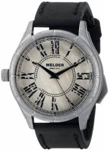 [ウェルダー]Welder 腕時計 Analog Display Quartz Black Watch 502 ユニセックス [並行輸入品]