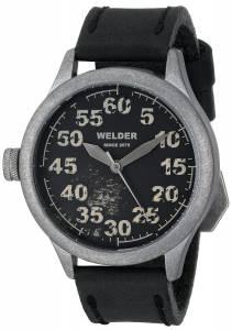 [ウェルダー]Welder 腕時計 Analog Display Quartz Black Watch 504 ユニセックス [並行輸入品]