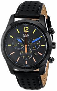 [イーエスキューモバード]ESQ Movado 腕時計 Current Analog Display Swiss Quartz Black Watch 07301476 メンズ [並行輸入品]