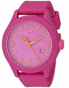 [イーエスキューモバード]ESQ Movado 腕時計 One Analog Display Swiss Quartz Pink Watch 07101430 ユニセックス [並行輸入品]
