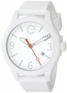 [イーエスキューモバード]ESQ Movado 腕時計 One Analog Display Swiss Quartz White Watch 07101428 ユニセックス [並行輸入品]