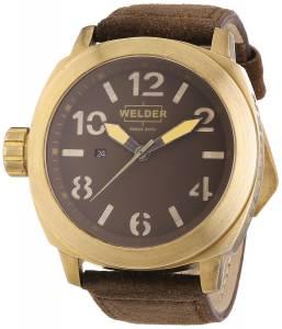 [ウェルダー]Welder 腕時計 K51 Analog Display Swiss Quartz Brown Watch 9102 ユニセックス [並行輸入品]