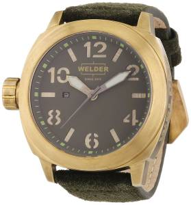 [ウェルダー]Welder 腕時計 K51 Analog Display Swiss Quartz Green Watch 9101 ユニセックス [並行輸入品]