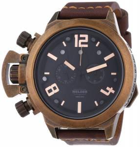 [ウェルダー]Welder 腕時計 Analog Display Quartz Brown Watch 3610 ユニセックス [並行輸入品]