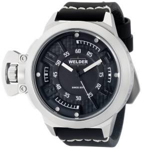 [ウェルダー]Welder 腕時計 Analog Display Quartz Black Watch 3608 ユニセックス [並行輸入品]