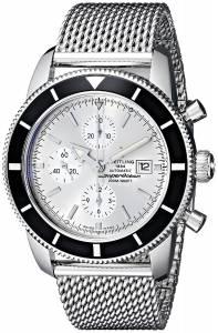 [ブライトリング]Breitling 腕時計 Analog Display Swiss Automatic Silver Watch A1332024-G698 メンズ [並行輸入品]
