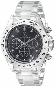 [トイウォッチ]Toy Watch 腕時計 Analog Display Quartz Clear Watch 8001BKP ユニセックス [並行輸入品]