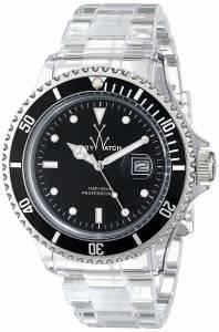 [トイウォッチ]Toy Watch 腕時計 Analog Display Quartz Clear Watch 4001BKP メンズ [並行輸入品]