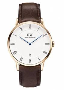 [ダニエル ウェリントン]Daniel Wellington 腕時計 Dapper Bristol Rosegold 38mm Leather watch 1103DW ユニセックス [並行輸入品]