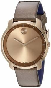 [モバード]Movado 腕時計 Analog Display Swiss Quartz Brown Watch 3600313 レディース [並行輸入品]