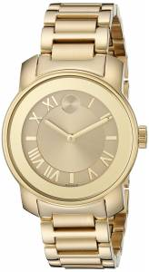 [モバード]Movado 腕時計 Analog Display Swiss Quartz Gold Watch 3600323 レディース [並行輸入品]