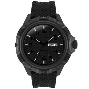 [アーマーライト]Armourlite 腕時計 Professional Series Blackout Steel Watch Rubber Band AL1414 [並行輸入品]