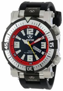 [リアクター]REACTOR 腕時計 Poseidon Stainless Steel Watch with Black Rubber Strap 55801 メンズ [並行輸入品]