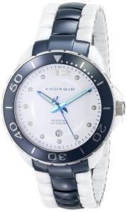 [アンドロイド]Android 腕時計 Exotic Swiss Ceramic Quartz White Dial Watch AD451AWBU メンズ [並行輸入品]