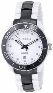 [アンドロイド]Android 腕時計 Exotic Swiss Ceramic Quartz White Dial Watch AD451AWK メンズ [並行輸入品]
