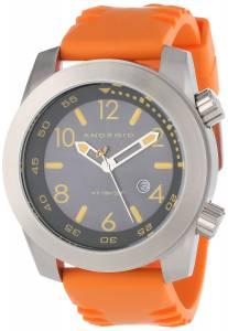 [アンドロイド]Android 腕時計 Octopuz Stainless Steel Rubber Strap Watch Orange AD589BRG メンズ [並行輸入品]
