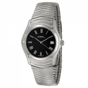 [エベル]EBEL 腕時計 Classic Black Dial Stainless Steel Watch 9255F41/5125 / 1215274 メンズ