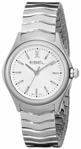 [エベル]EBEL 腕時計 Wave Analog Display Swiss Quartz Silver Watch 1216192 レディース