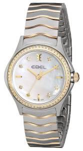 [エベル]EBEL  Wave Stainless Steel and 18k Gold TwoTone Bracelet Watch 1216198 レディース