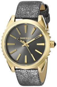 [ディーゼル]Diesel  Nuki Analog Display Analog Quartz Black Watch DZ5476 レディース