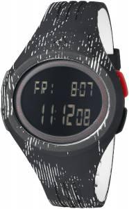 [アディダス]adidas 腕時計 Uraha Digital Display Analog Quartz Black Watch ADP3178 メンズ