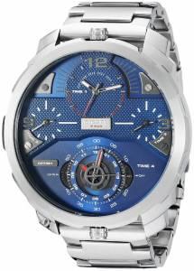 [ディーゼル]Diesel  Machinus Analog Display Analog Quartz Silver Watch DZ7361 メンズ
