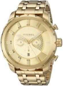[ディーゼル]Diesel 腕時計 Stronghold Analog Display Quartz Gold Watch DZ4376 メンズ