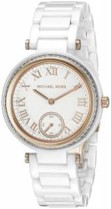 [マイケル・コース]Michael Kors Mini Skylar Analog Display Analog Quartz White Watch MK6240